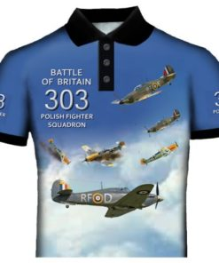 303 Fighter Squadron Polo Shirt