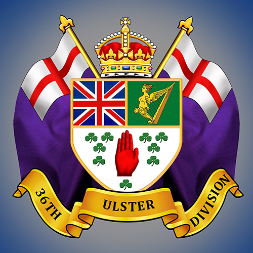 36th Ulster Division Sticker