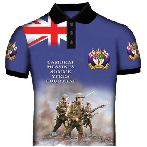 36th Division Polo Shirts