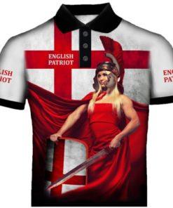 English Patriot Polo Shirt