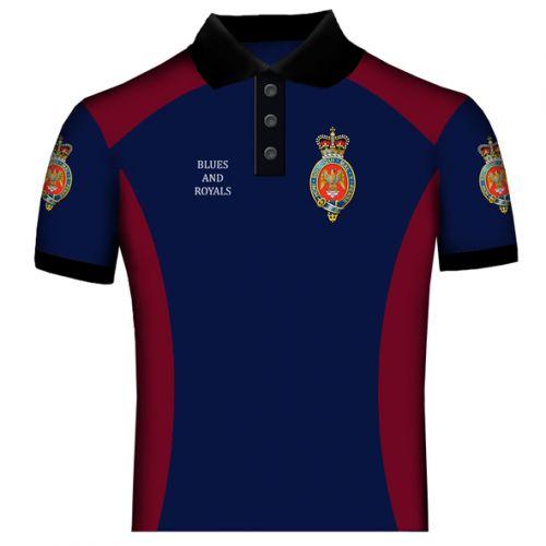 Blues and Royal Polo Shirt