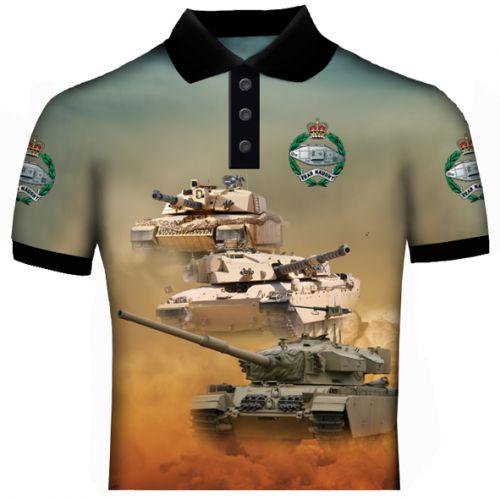 Battle Tank Polo Shirt