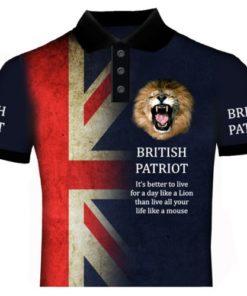 British Patriot Polo Shirt