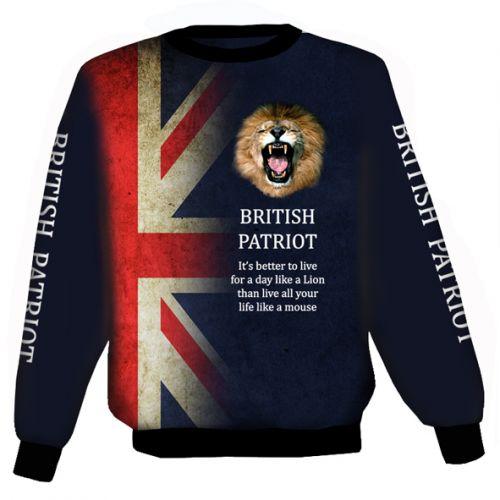 British Patriot Sweat Shirt