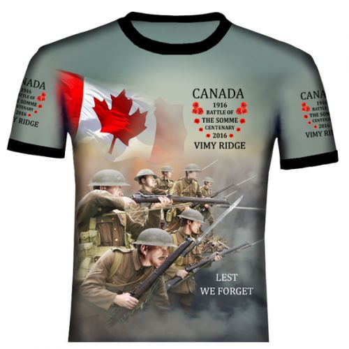 Canada Somme T Shirt