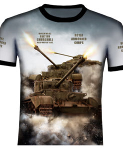 Churchill Tank T Shirt