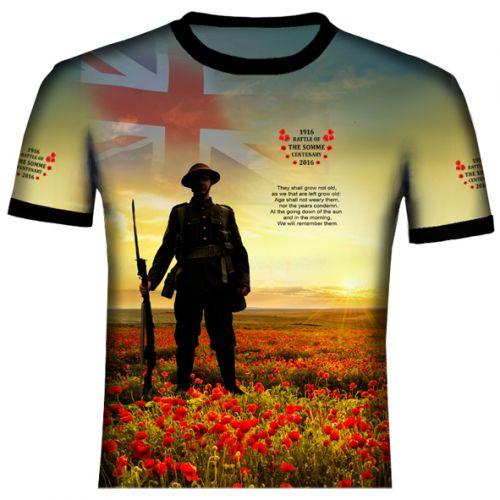 British Somme T Shirt