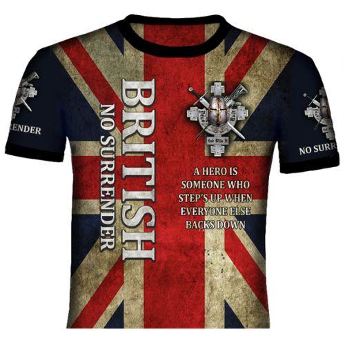 British No Surrender T Shirt