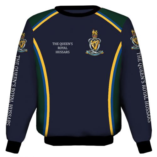 Queens Royal Hussars Sweat Shirt