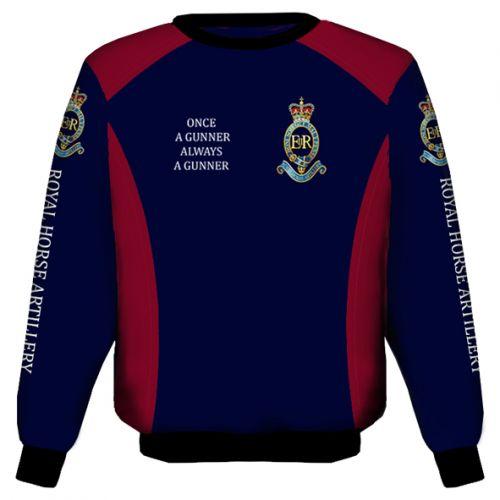 Royal Horse Artillery Sweat Shirt