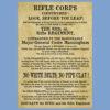 Rifle Corps Recruitment