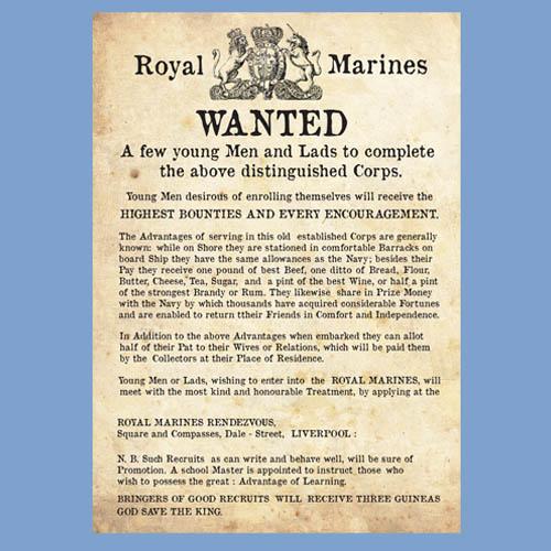 Royal Marine Recruitment