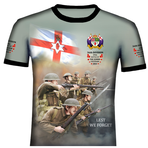 Somme 2  36TH Division T Shirt