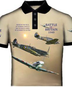 Spitfire and Hurricane Polo Shirt