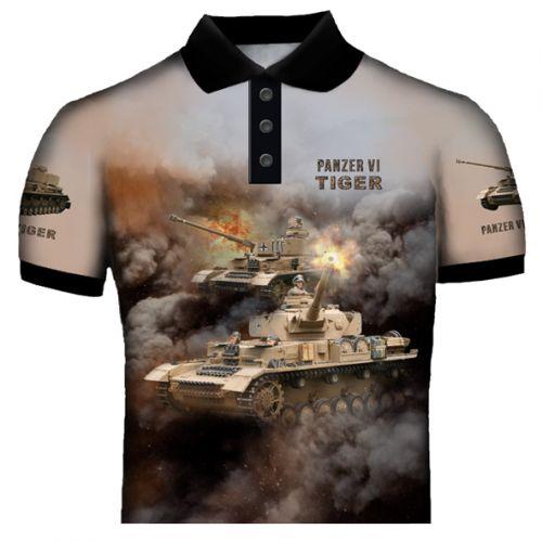 Tiger Tank Polo Shirt