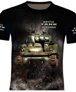 Sherman Tank T Shirt