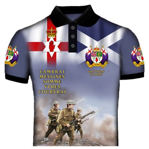 Ulster Scots 36 Division Polo Shirt