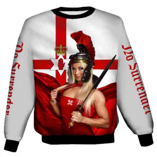 Women of Ulster Polyester Sweat Shirt