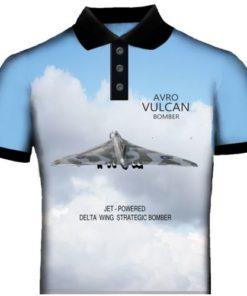 Vulcan Bomber Polo Shirt