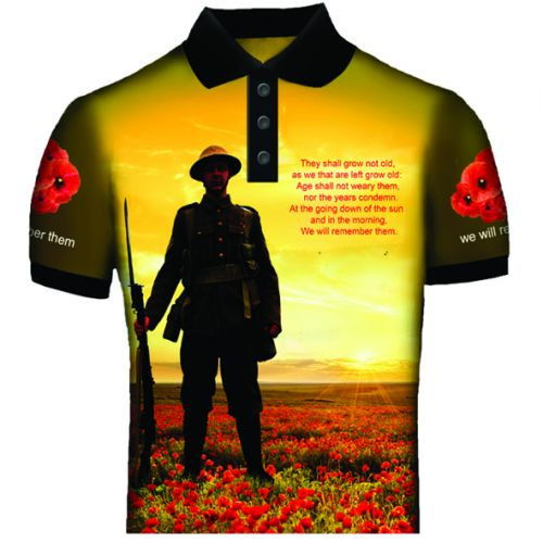 We Shall Not Forget Polo Shirt