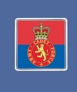 Army Cadet Fridge Magnet