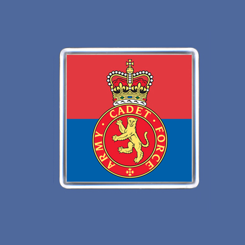 Army Cadet Fridge Magnet