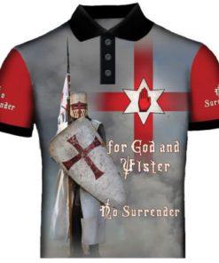 Ulster Knight templar Polo Shirt