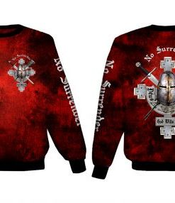 No surrender Polyester Sweat Shirt
