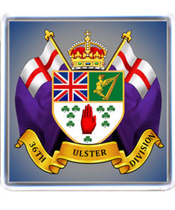 36th Ulster Division Coaster