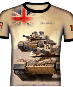 Challenger Main Battle Tank T Shirt