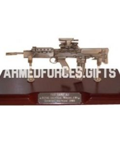 Rifle L85A2 SA80 in Pewter
