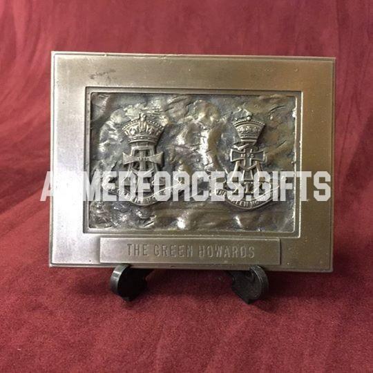 Green Howards Regimental Cast Plaque