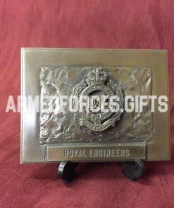 Royal Engineers Regimental Cast Plaques