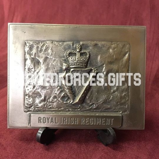 Royal Irish Regiment Cast Plaque