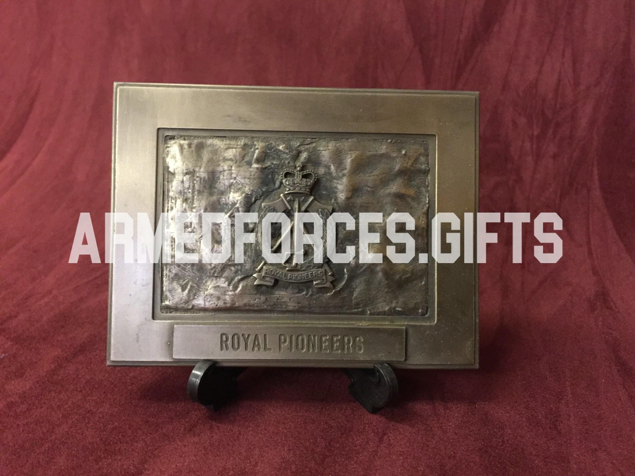 Royal Pioneer Corps Cast Plaque