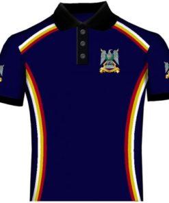 Full Colour Regimental Polo Shirts