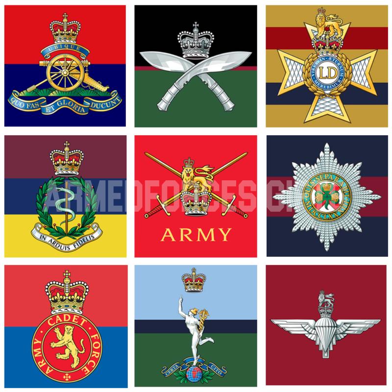 Regimental Stickers