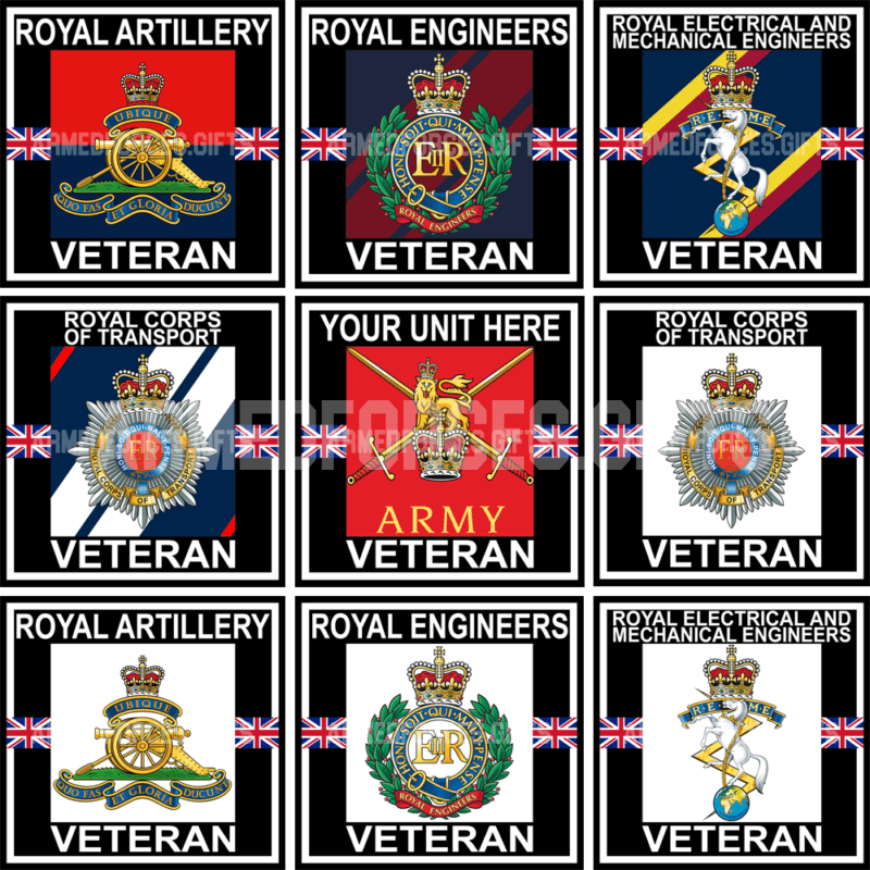 Veterans Vinyl Sticker