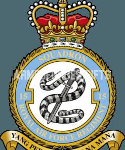 RAF 15 Regiment Squadron