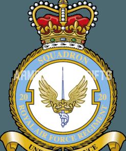 RAF 20 Regiment Squadron