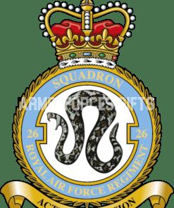 RAF 26 Regiment Squadron