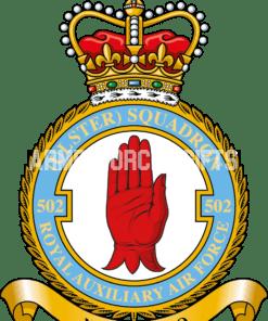 RAF 502 Aux Squadron