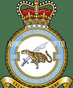 RAF 51 Regiment Squadron