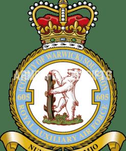 RAF 605 Aux Squadron